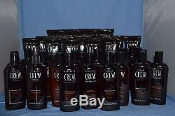 Lot Of 34 American Crew Styling Gels, Shammpoos & Conditioners
