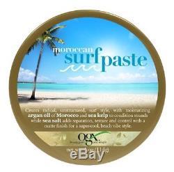 Lot Of 4 OGX Moroccan Surf Paste Hair Paste 4 oz