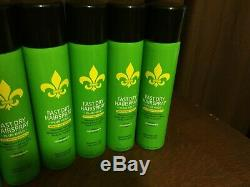 Lot Of 8 Cans DERMORGANIC Fast Dry Hairspray 10 oz Plus Hold