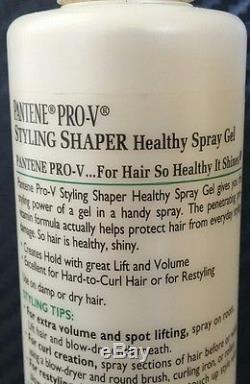 Lot of 2 Pantene Pro-V Styling Shaper. Healthy Spray Gel. 8.5 fl oz each