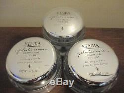 Lot of 3 Kenra Platinum Grooming Pomade Define & Control (#4) 2oz