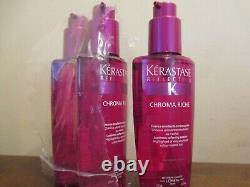 Lot of 3 Kerastase Chroma Riche Luminous Softening Essence by L'Oréal 4.2 oz