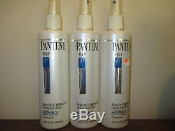 Lot of 3 Pantene Pro-V sheer UNSCENTED Hairspray flexible hold 10.2 oz
