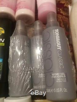 Lot of Toni&Guy hair products and more