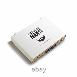 Master Collection Luxury Beard Kit 12 Natural Beard Care Products Included