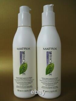 Matrix Biolage Hydra Seal Leave in Cream 8.5 oz Pack of 2 bottles