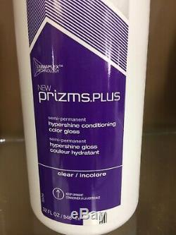 Matrix Prizms. Plus Semi-permanent Hypershine Conditioning Color Gloss (CL) 32 oz
