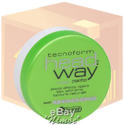 Matt Paste box 12 pcs x 125ml head. Way Tecnoform Biacrè finish matt effect