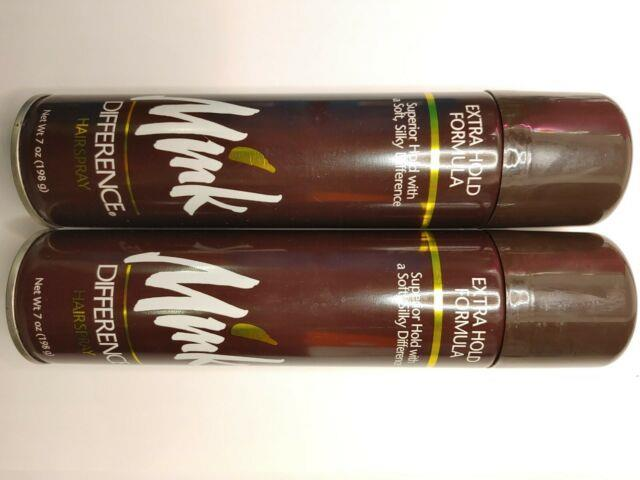 Mink Difference Hair Spray Extra Hold Formula 7 Oz Limited Edition Best Seller