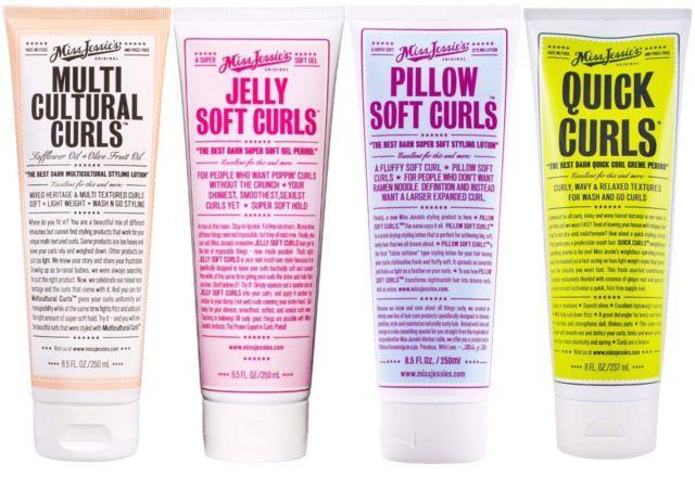 Miss Jessie's 4 Item Lot- Quick Curls, Multicultural Curls, Jelly & Pillow Curls