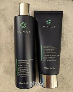 Monat Hair Products Full-size Brand New Lot of 23 Items-shampoos, styling, etc