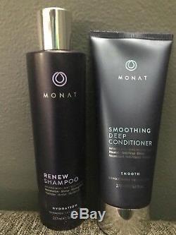 Monat New! 2 Piece Set / Renew Shampoo & Smoothing Deep Conditioner