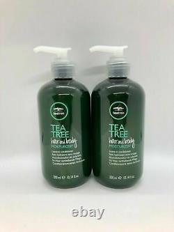 NEW 2 Pack Paul Mitchell Tea Tree Hair and Body Moisturizer 10.14 oz
