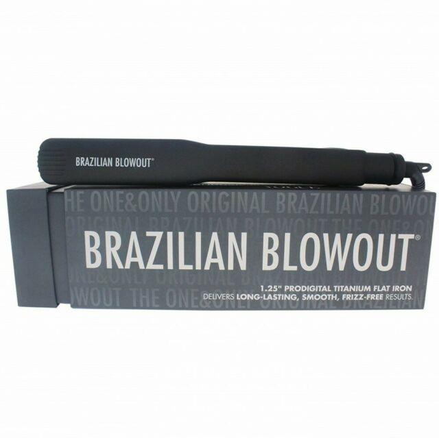 New Brazilian Blowout 1.25 Prodigital Titanium Flat Iron Model 11t22