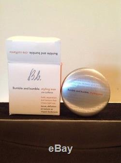 NEW Bumble and Bumble Styling Wax (1.5 Ounces)