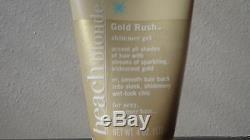 NEW John Frieda Beach Blonde Gold Rush Shimmer Gel 4 oz Tube Sparkling Hair Chic