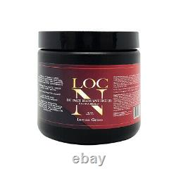 NEW! LOC N Edge Gel EXTRA HOLD 16 Oz. LEMON GRASS Free Shipping