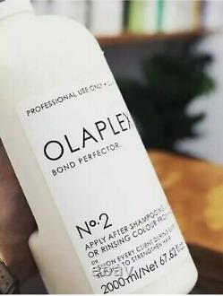 NEW Olaplex No. 2 Bond Perfector 67.62 oz. /2000 ml. Authentic -Seal