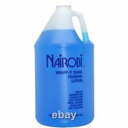 Nairobi Wrapp It Shine Foam Wrap 128 Ounce (1 Gal)
