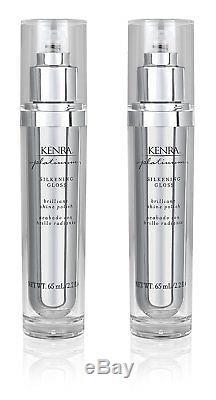 New Kenra Platinum Silkening Formula Gloss 2.26-Ounce 2-Pack Free Fast Shipping