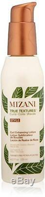 New Mizani True Textures Curl Enhancing Lotion 4.2 fl oz