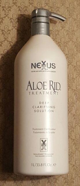 Nexxus Aloe Rid Treatment Deep Clarifying Solution 33.8 Oz Fast