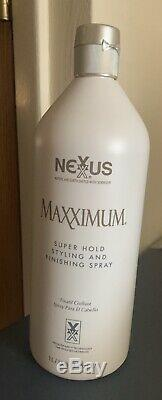 Nexxus Maxximum Super Hold Styling & Finishing Spray LITER