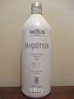 Nexxus Maxxistyler Sculpting Spray Gel Refill 33.8 oz ORIGINAL FORMULA