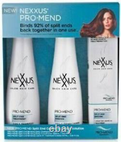 Nexxus Pro-Mend Split End Complete Repair Solution 3 Piece Kit