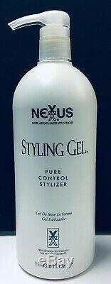Nexxus Styling Gel Pure Control Stylizer 33.8 fl oz