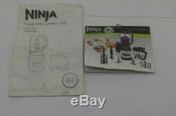 Ninja Pro System 1100 Food processor model #NJ602W & Dough base