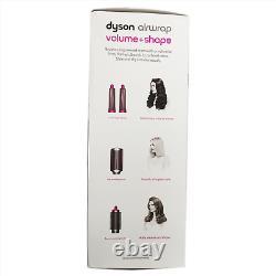 OB Dyson Airwrap Volume Shape Styler For Fine Flat Hair Fuchsia Nickel