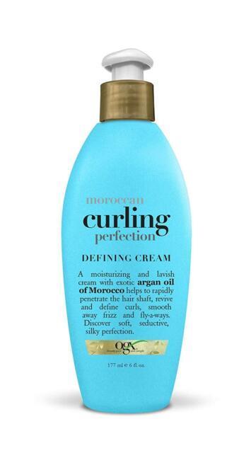 Ogx Renewing Moroccan Argan Oil Curling Perfection Defining Cream, 6 Oz Pack 3