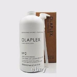 OLAPLEX No. 2 Bond Perfector 67.62 oz / 2000 ml Brand New Sealed 100% Authentic