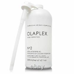 OLAPLEX No. 2 Bond Perfector Hair Treatment 67.62 oz 2000 ml NEW