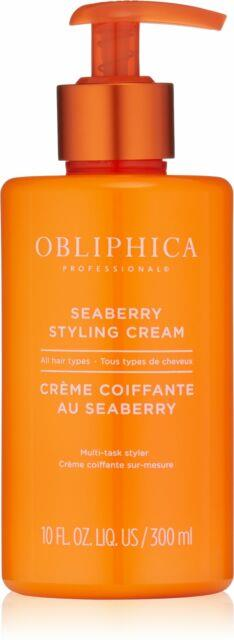 Obliphica Professional Seaberry Styling Cream, 10 Fl Oz