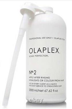Olaplex No. 2 Bond Perfector 67.62 oz. /2000 ml. AUTHENTIC SEALED BRAND NEW