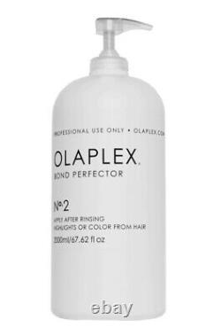 Olaplex No. 2 Bond Perfector 67.6oz. NEW IN BOX FACTORY SEALED! WITH PUMP