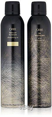 Oribe Dry Texturizing Spray 8.5oz and Gold Lust Dry Shampoo 6oz