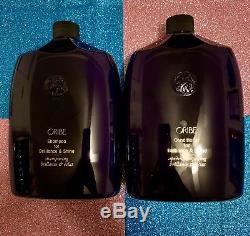 Oribe Shampoo and Conditioner For Brilliance & Shine 33.8 oz / 1 L. SET. PUMPS