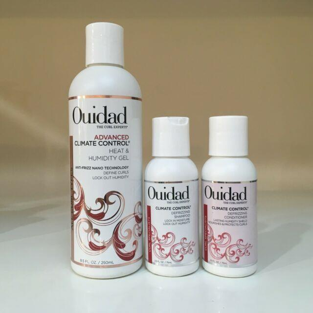 Ouidad Advanced Climate Control Heat And Humidity Gel 8.5 Oz + Free Travel Minis