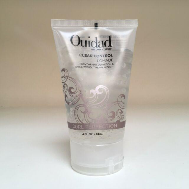 Ouidad Curl Perfection Clear Control Pomade (lightweight) 4 Oz New
