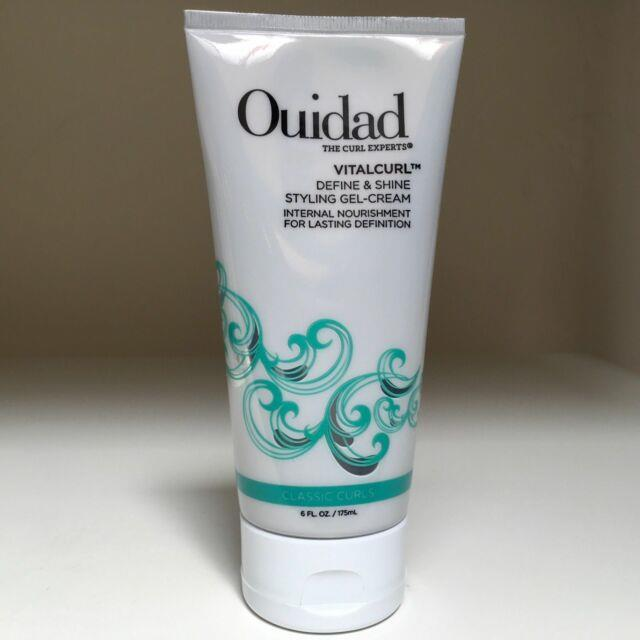 Ouidad Vitalcurl Define And Shine Styling Gel Cream 6 Oz New And Sealed
