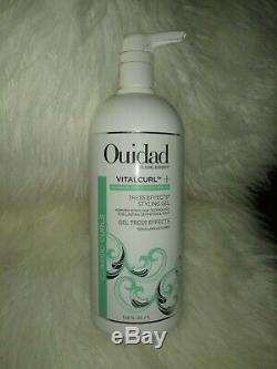 Ouidad Vitalcurl+ Tress Effects Styling Gel 33.8 oz NEW