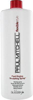Paul Mitchell Fast Dry Sculpting Spray 33.8 oz (Pack of 6)