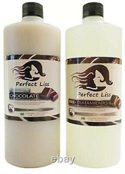 Perfect Liss Cirugia capilar keratina brasilera chocolate Cero Friz (Kit 1000ml)