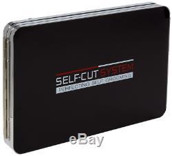 Perfecting Self Grooming Black Lambo 3-Way Mirror w Free Educational Mobile App