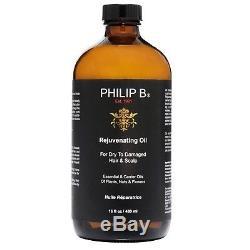 Philip B. Rejuvenating Oil for Dry & Damaged Hair & Scalp 16oz SIZE