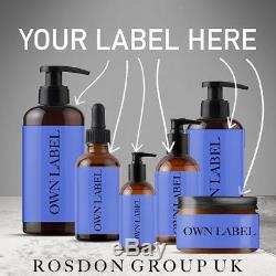 Private Label Beard Oil 30ml Wood MADE IN UK Just Add Your Logo