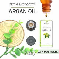 Professional Steam Flat Iron Hair Straightener Straightening Styler + Organ Oil